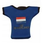 Калъф за GSM с формата на тениска с надпис Холандия и холандското знаме