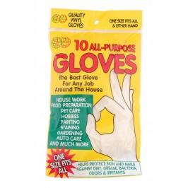 Комплект от ръкавици за еднократна употреба - 10бр