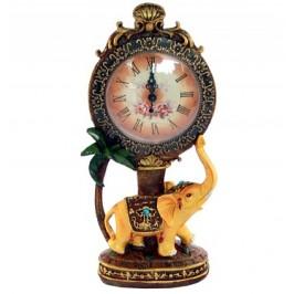 Декоративен керамичен настолен часовник - 33см