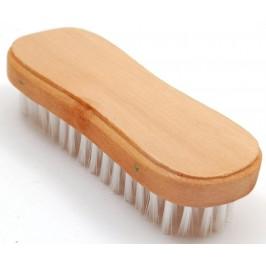 Домакински прибор - четка за почистване на дрехи с дървена дръжка и мек PVC косъм