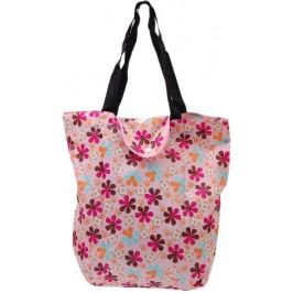Пазарска торбичка от плат с вътрешен джоб