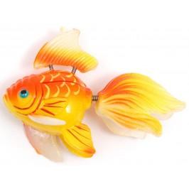 Сувенирна фигурка с магнит - риба принцеса - 5см