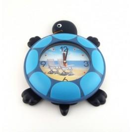 Стенен часовник костенурка - диаметър 25см
