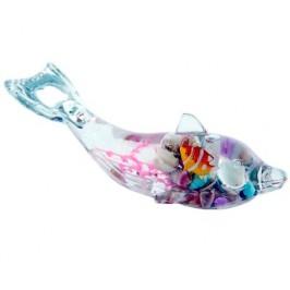 Декоративна фигурка делфин - отварачка