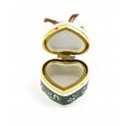 Декоративна порцеланова кутийка за бижута