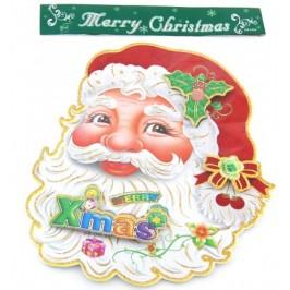 Коледна декорация от картон - Дядо Коледа