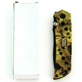 Сгъваем ловен нож с метална камуфлажна дръжка