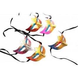 Декоративна маска - тип домино с връзки