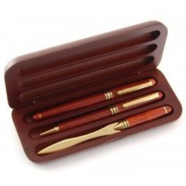 Луксозен подаръчен комплект от два химикала и нож за писма