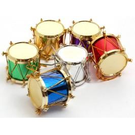 Коледни барабанчета в различни цветове