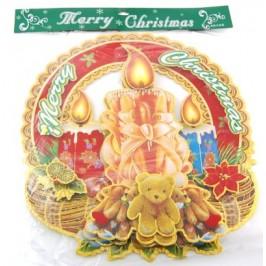 Коледна декорация от картон