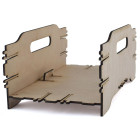 Декоративно сандъче за декупаж, украса или просто за ползване в домакинството