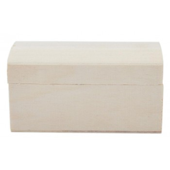 Дървена кутия тип ракла с красива магнитна закопчалка