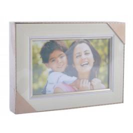 Стилна мултирамка за 3 снимки, изработена от PVC материал и фронт стъкло