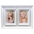Мултирамка за 2 снимки, изработена от PVC материал и фронт стъкло