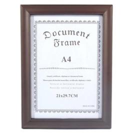 Красива кафява рамка, подходяща за снимки, грамоти, дипломи и други документи с размери А4