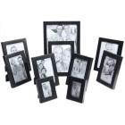 Комплект от 10 бр. рамки с различни размери за фотоколаж