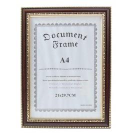 Красива рамка, декорирана със златисти орнаменти