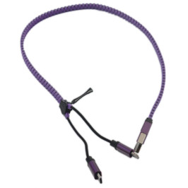 USB кабел 2 в 1 за телефон - IPHONE/Samsung