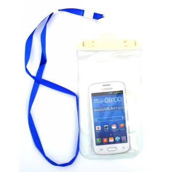 Универсален водоустойчив калъф за телефон, плеър или фотоапарат, който позволява снимки под вода