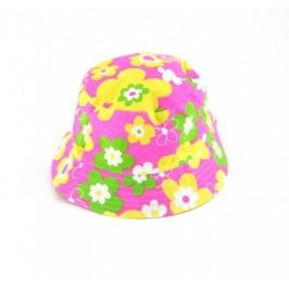 Лятна шапка на цветя от плат