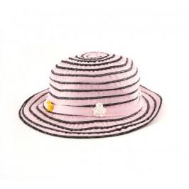 Лятна шапка с декоративни рози