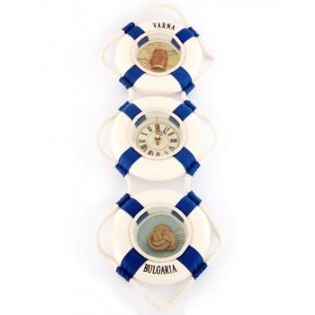 Сувенирно пано за окачване - ансамбъл от три пояса с диаметър - 15см