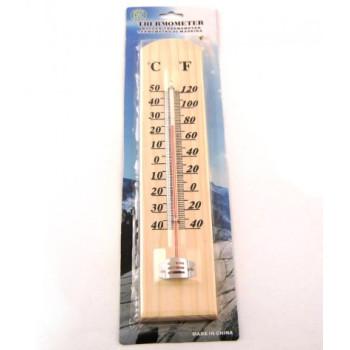 Дървен стаен термометър