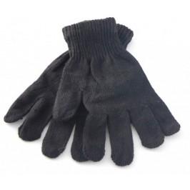 Плетени мъжки ръкавици с еластичен маншет