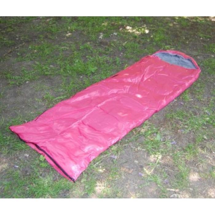 Спален чувал с качулка подходящ за употреба в палатка или на открито