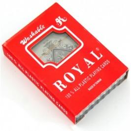 Комплект 52 броя пластични карти за игра в кутия