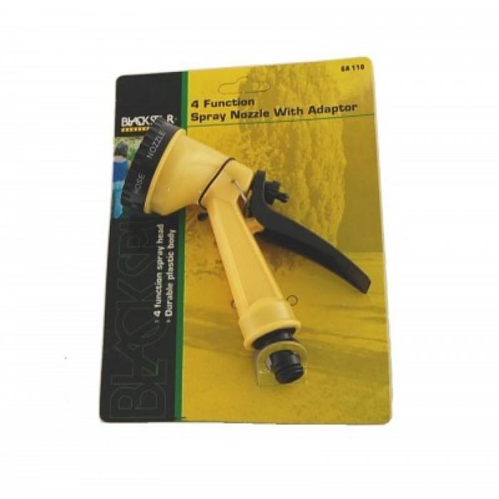 Накрайник за маркуч - PVC - разпръсквач с четири режима на работа