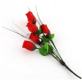 Декоративно цвете от плат