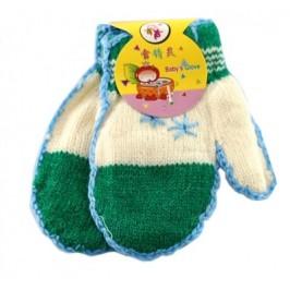 Красиви плетени ръкавички с едно пръстче