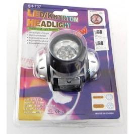 Прожектор с 7 диода за глава