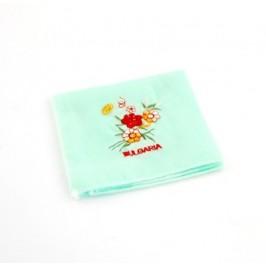 Сувенирна памучна кърпичка с декоративна бродерия