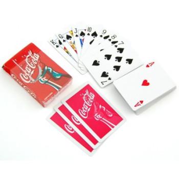 Комплект карти за игра - гръб цветен принт