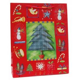 Подаръчна торбичка картон: 128гр