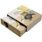 Красив фотоалбум за 40 снимки с твърди корици в кутия