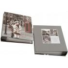 Красив фотоалбум с твърди корици в кутия за 40 снимки