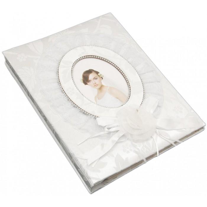 Луксозен сватбен фотоалбум с декорации с 40 листа със самозалепващ прозрачен филм