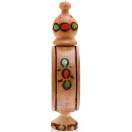 Традиционна дървена българска бъкличка