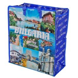 Пазарска чанта със забележителностите от България