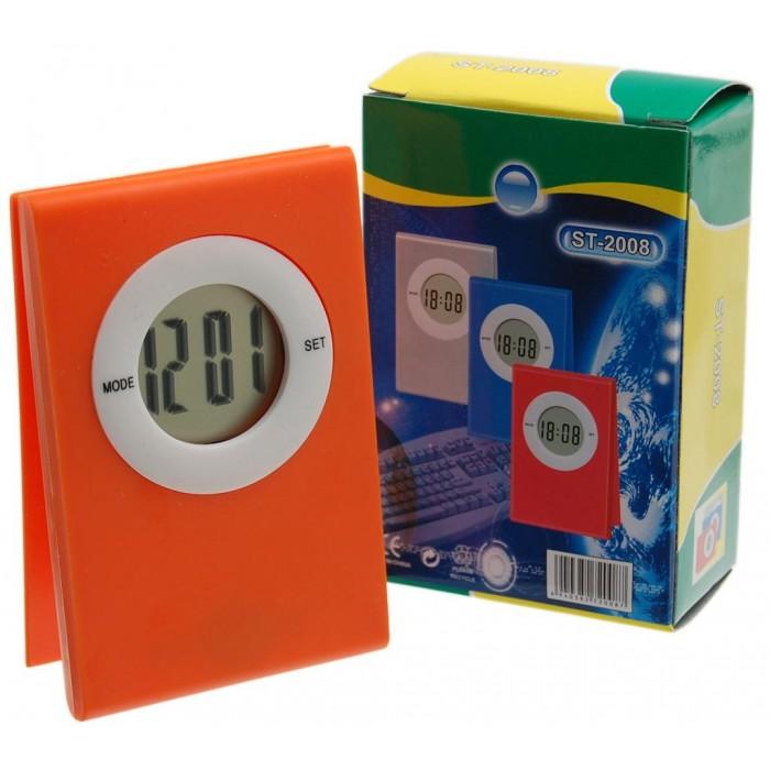 Настолен електронен часовник с тънък дисплей