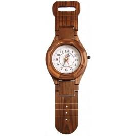 Декоративен стенен часовник - ръчен часовник, изработен от дърво