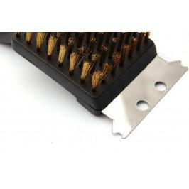 Домакински прибор - четка за почистване на скари - метал