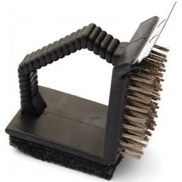 Домакински прибор - четка за почистване на скари - метал с абразивно покритие