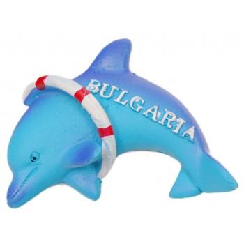 Сувенирна фигурка делфин с пояс на магнит