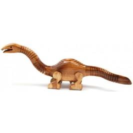Сувенирна дървена фигурка - динозавър гъвкав