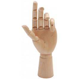Сувенир от дърво - ръка с обособени подвижни стави